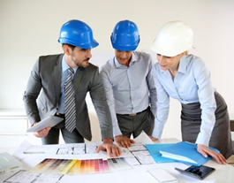 Construction project management with 3 engineers
