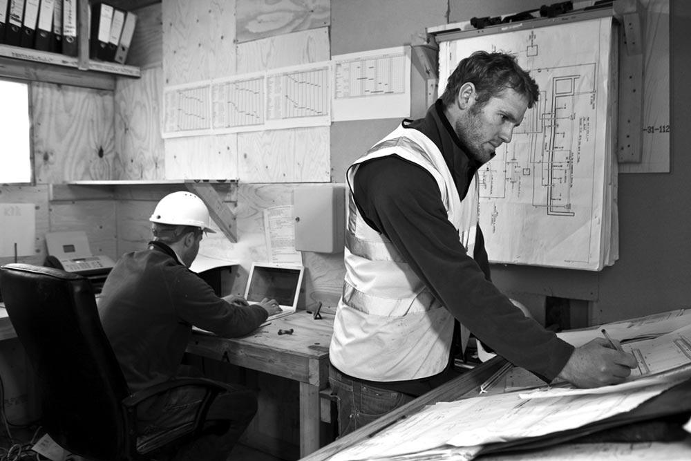 Construction management planning stages